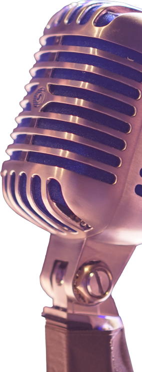 Image of old fashion microphone