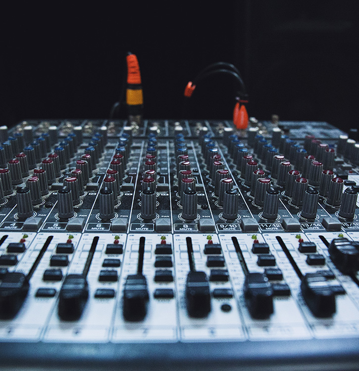 Audio Soundboard Equipment