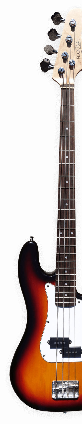 3/4 image of a guitar