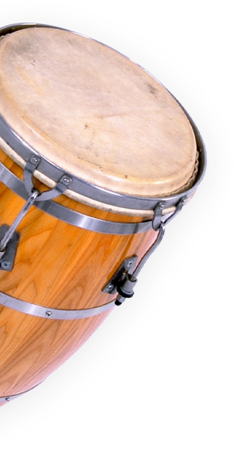 Image of a drum on a transparent background